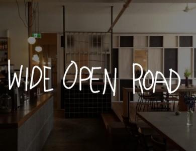wide open road coffee roasters header