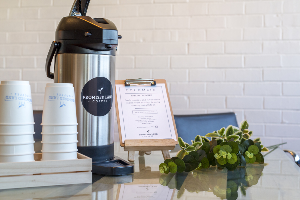 Promised Land Coffee airpots