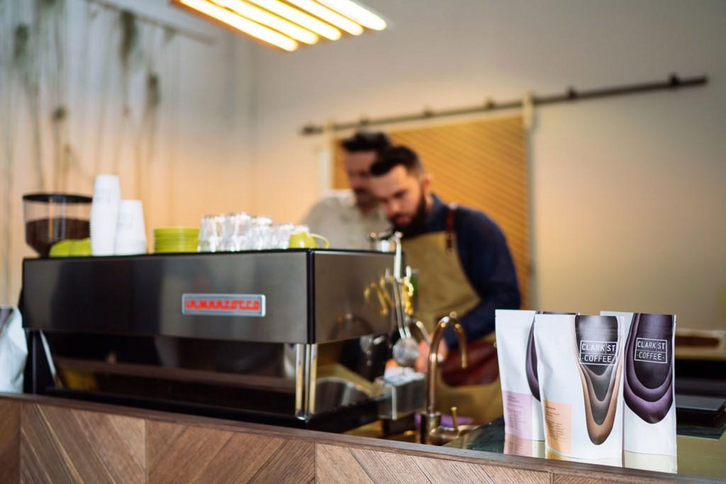 clark st coffee la marzocco