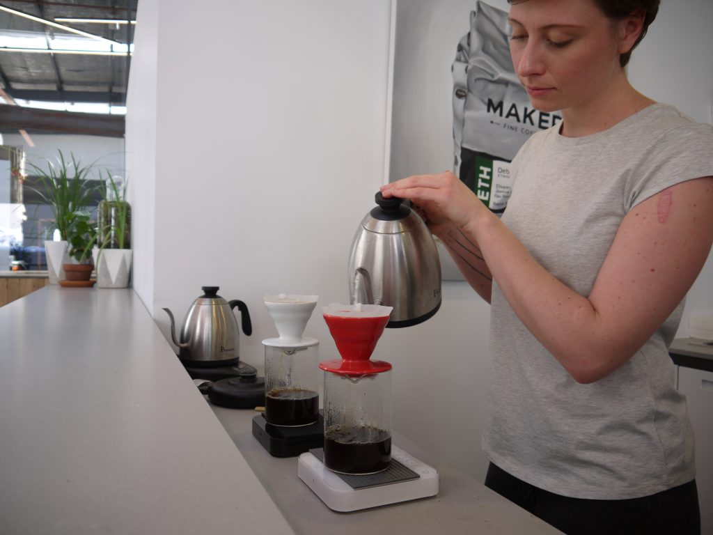 Maker Fine Coffee brew bar pourover