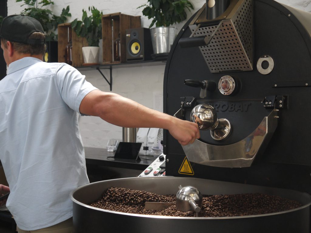 Maker Fine Coffee John roasting