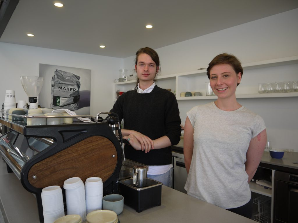 Maker Fine Coffee baristas