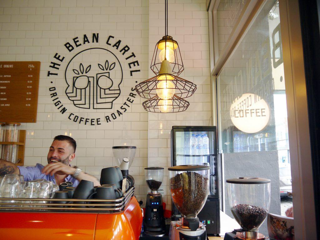 The Bean Cartel Origin Coffee Roasters cafe Riccardo