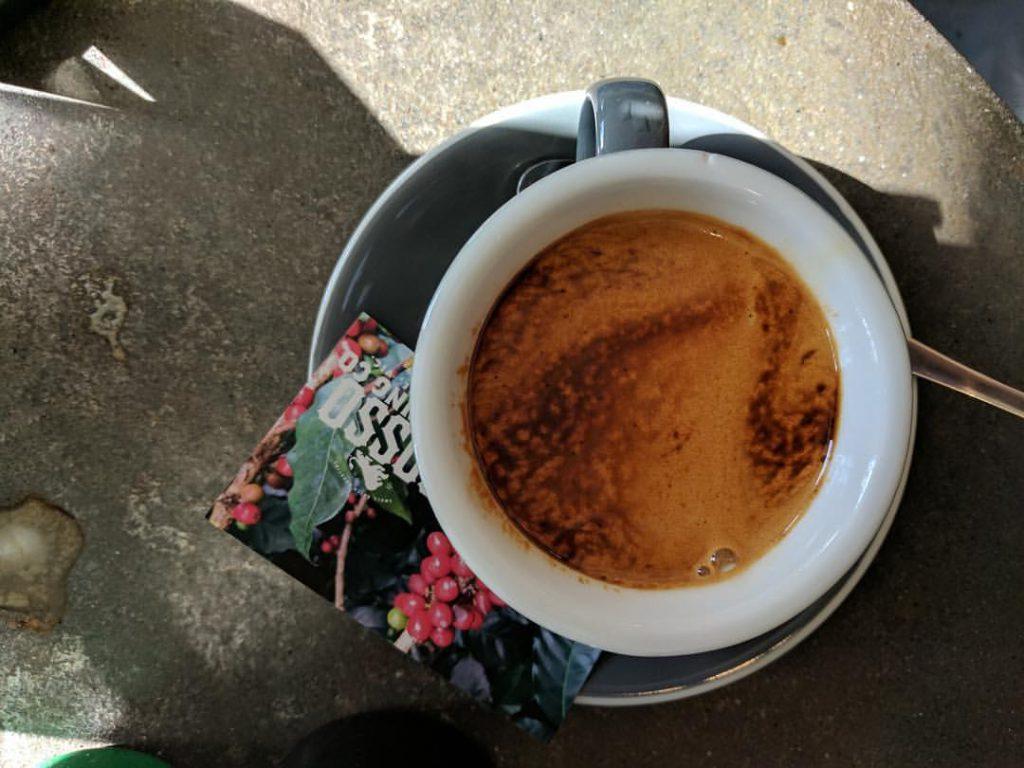 Rosso Roasting Co Coffee double shot espresso
