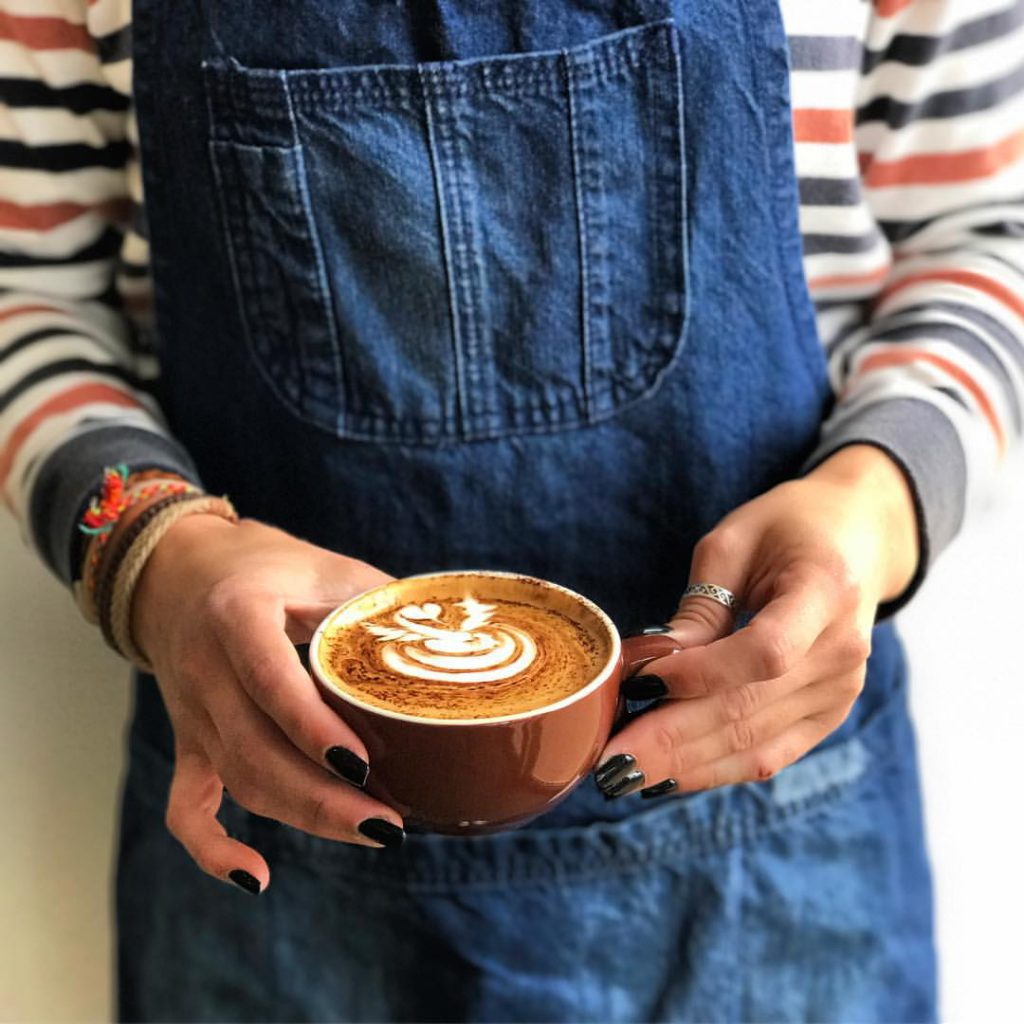 Rosso Roasting Co Coffee latte art