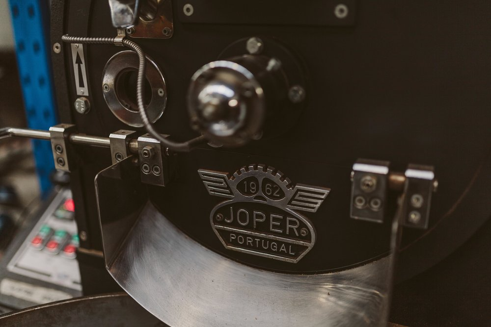Commonfolk Coffee Roasters Joper roasting