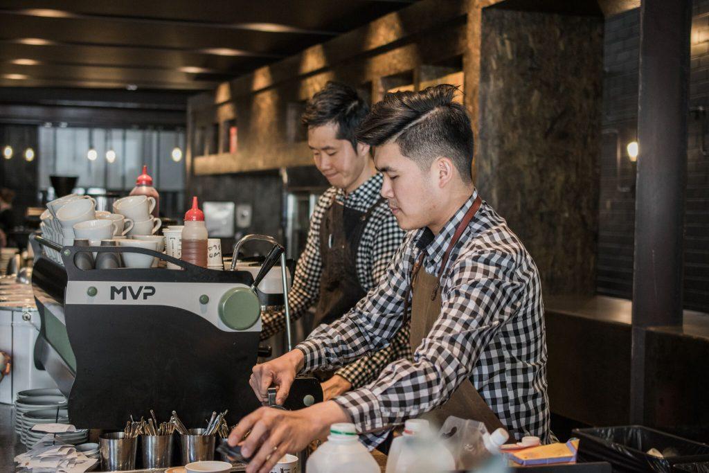 Code Black Coffee Roasters baristas