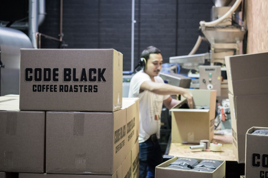 Code Black Coffee Roasters brunswick