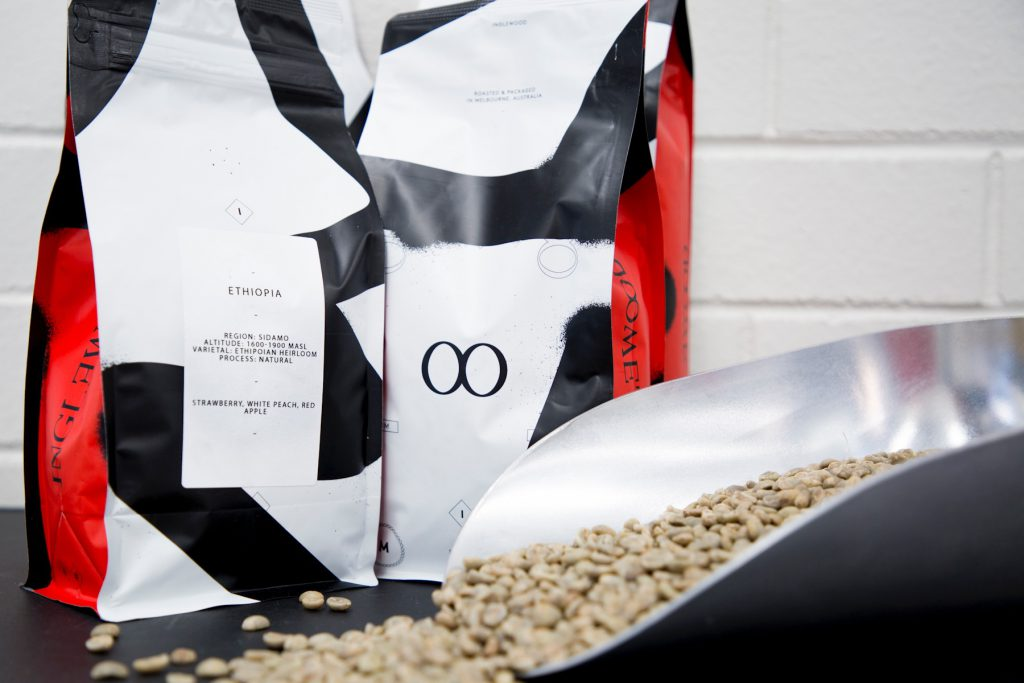 Inglewood Coffee Roasters packaging