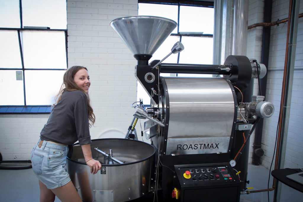 Inglewood Coffee Roasters roasting