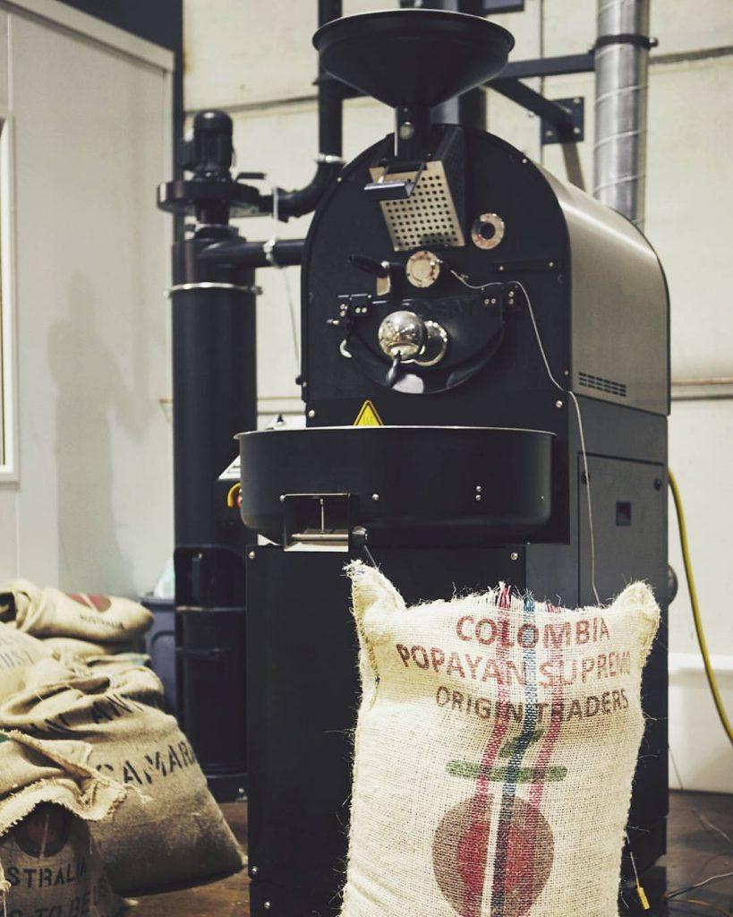 Undercover Coffee Roasters roasting