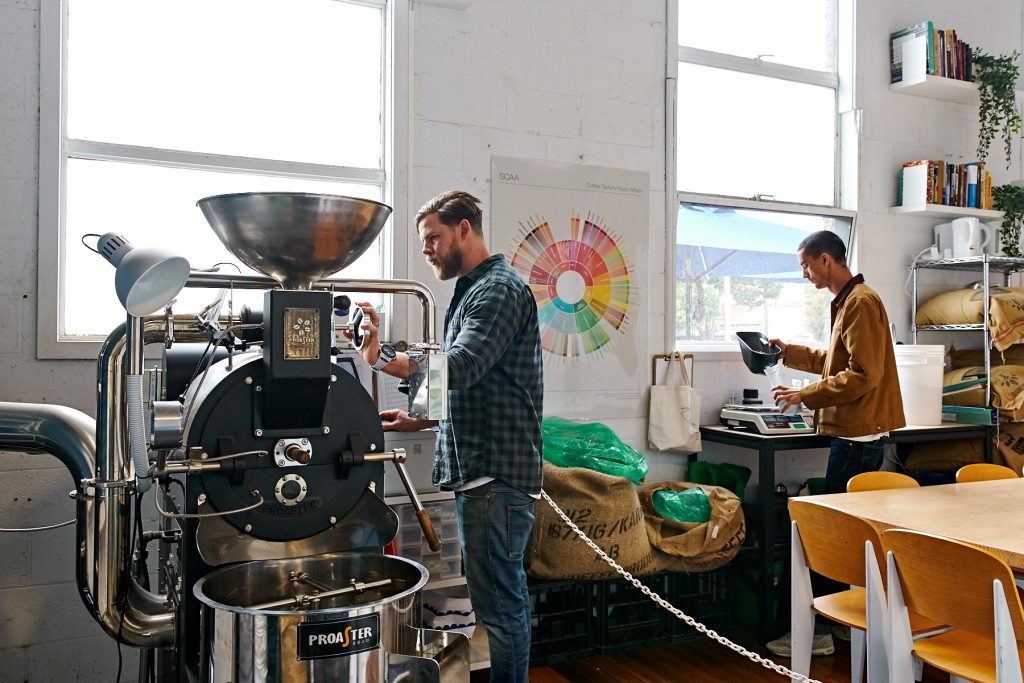 Aucuba Coffee Roasters roastery