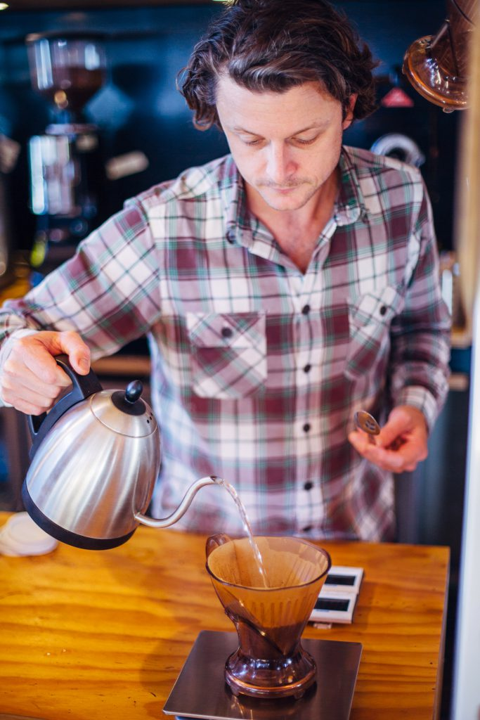 Omar Coffee Bird Dean Atkins pourover