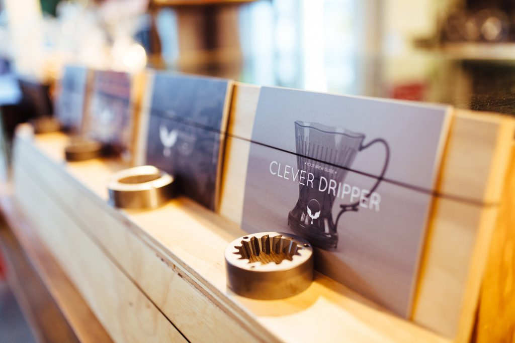 Omar Coffee Bird clever dripper