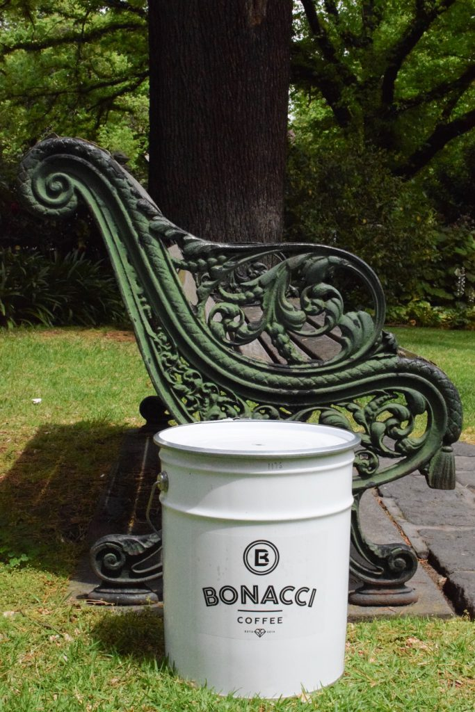 bonacci coffee roasters coffee tin