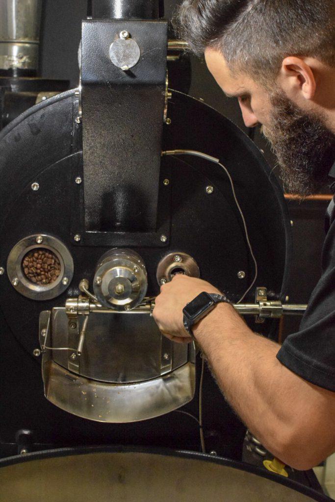 bonacci coffee roasters roasting brendon