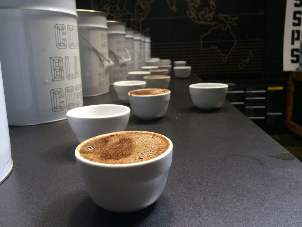 Code Black Coffee Roasters cupping