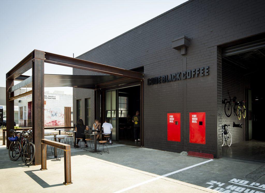 Code Black Coffee Roasters cafe exterior