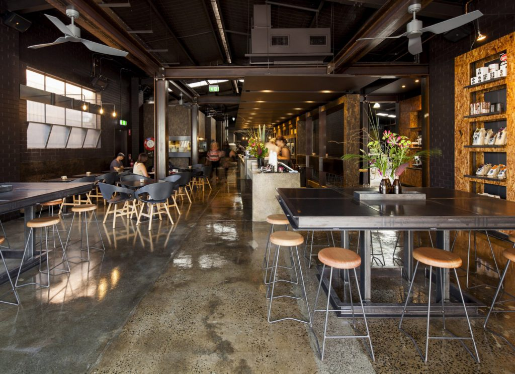 Code Black Coffee Roasters cafe interior