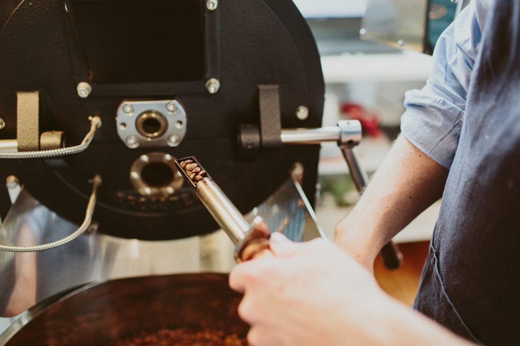 aucuba coffee roasters sampling roast