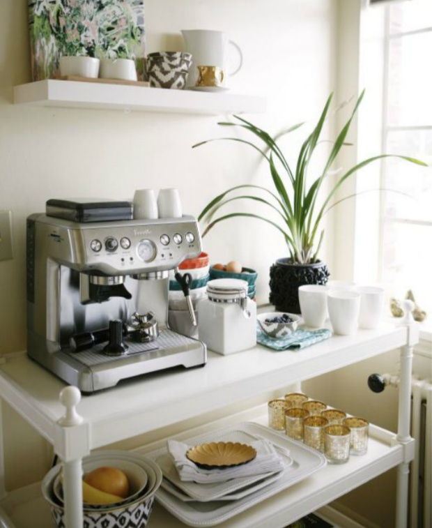 Home coffee setup