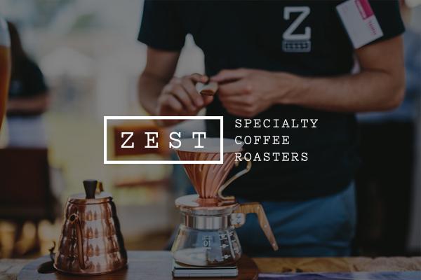 Zest Specialty Coffee header