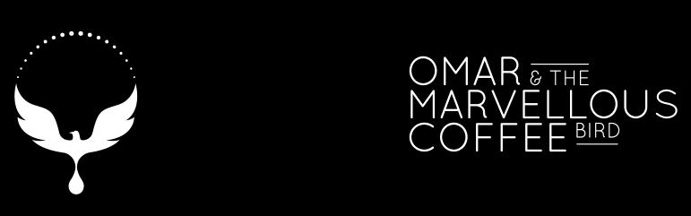omar and the marvellous coffee bird header