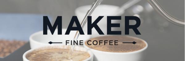Maker Fine Coffee header