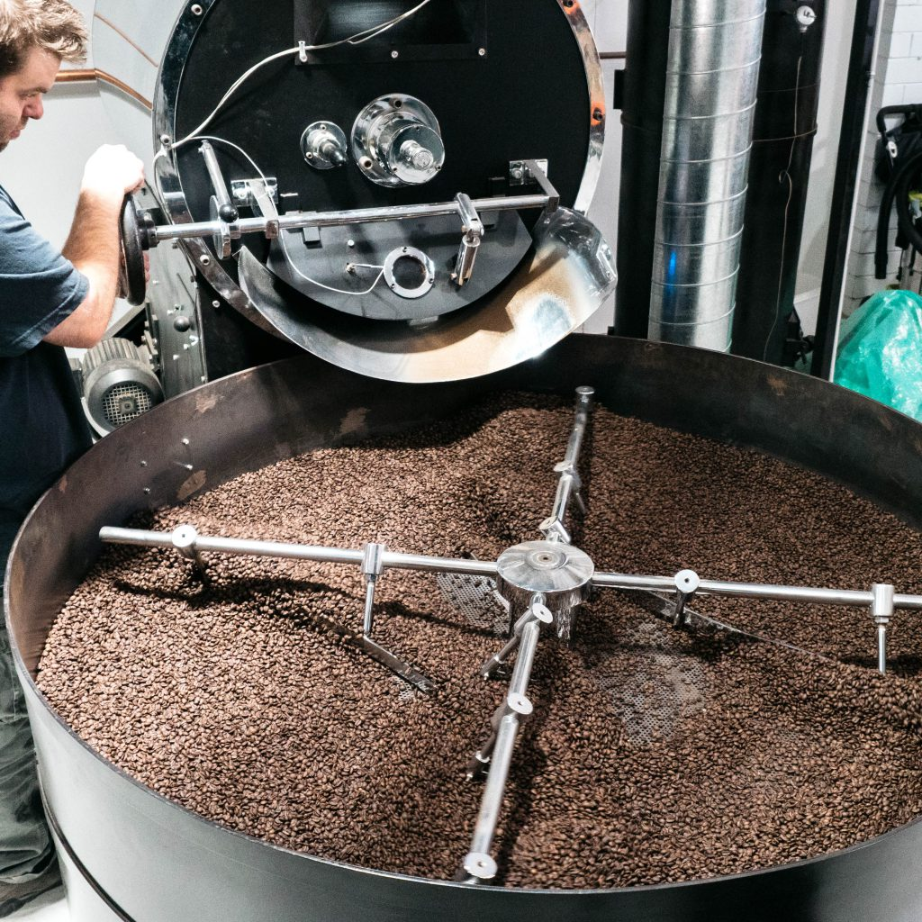 Reverence Coffee Roasters roasting process