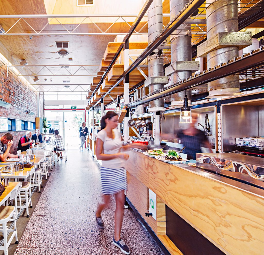 Omar Coffee Bird cafe interior