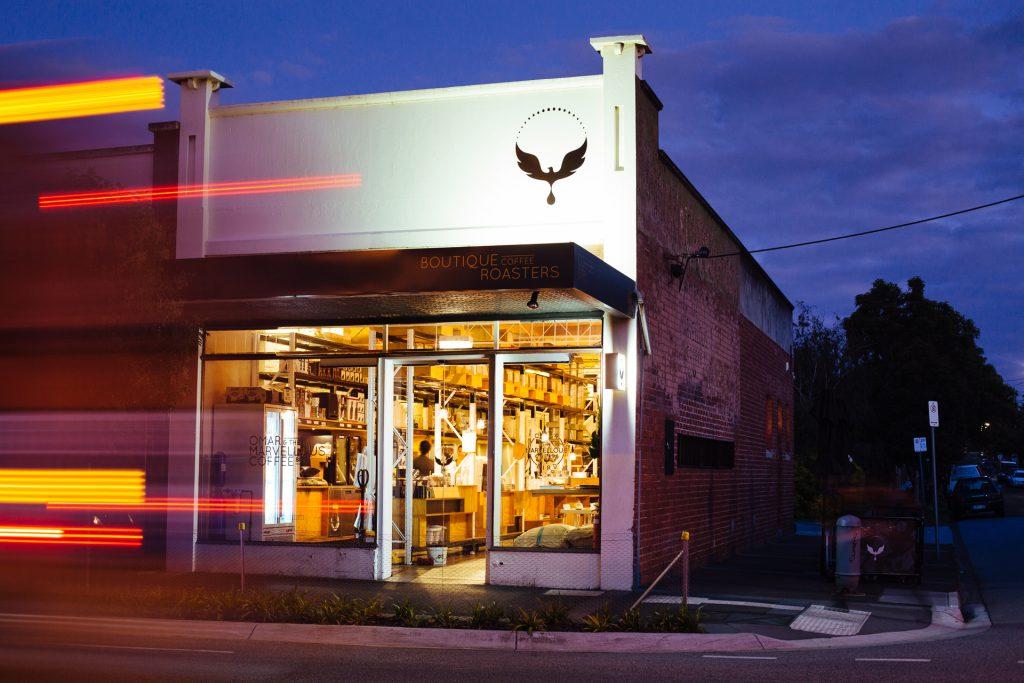 Omar Coffee Bird cafe outside