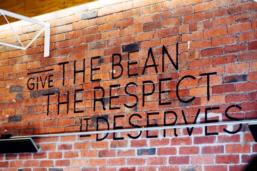 Omar Coffee Bird respect sign
