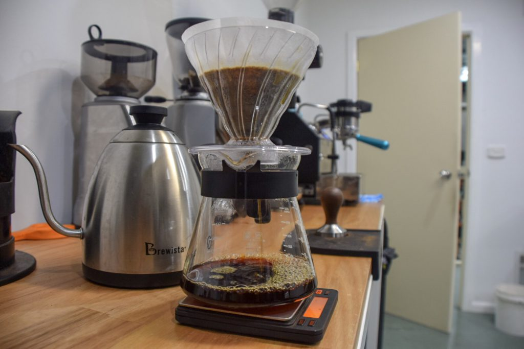 bonacci coffee roasters pourover brew
