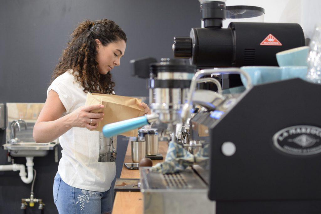 bonacci coffee roasters roasting leah