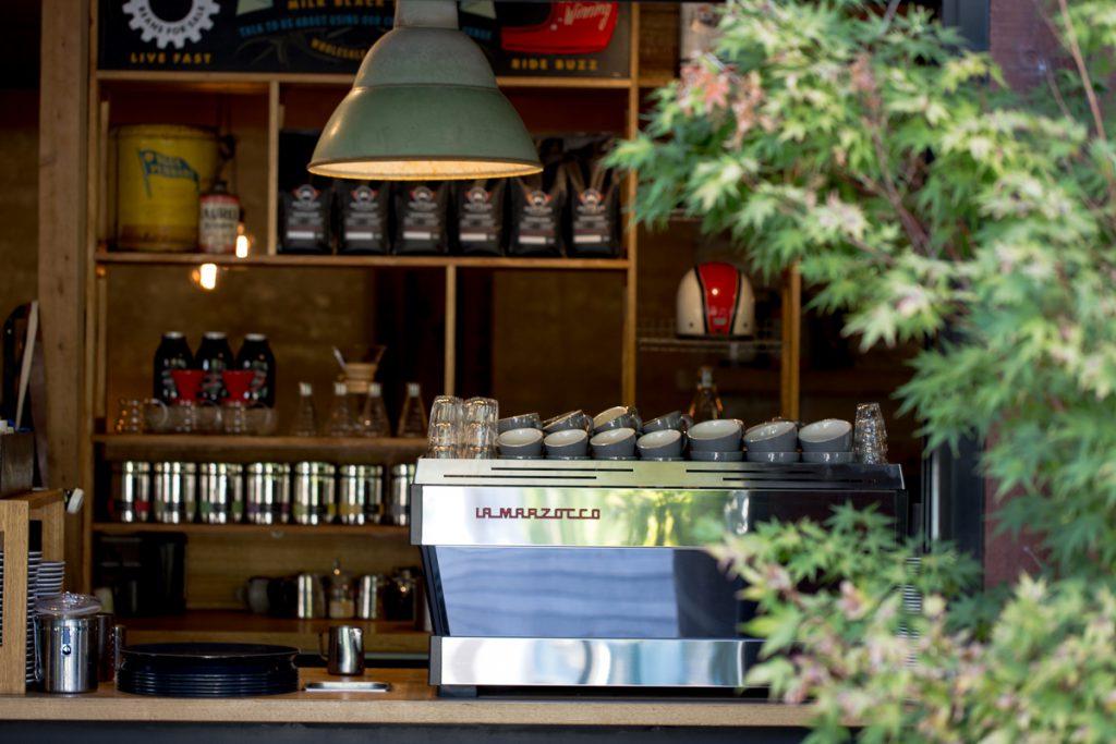 motobean coffee roasters la marzocco