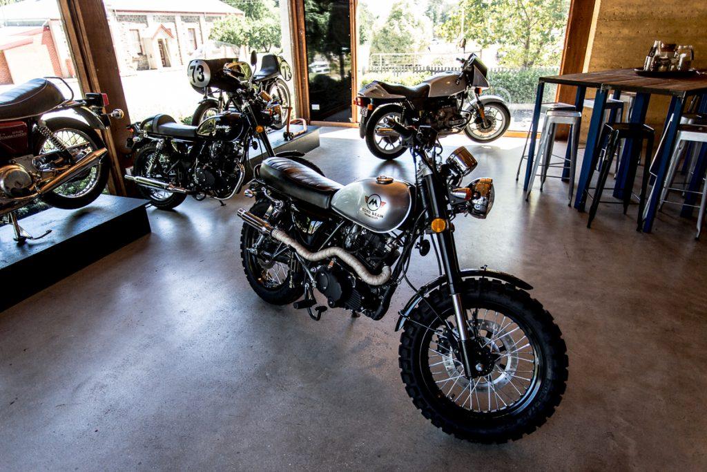 motobean coffee roasters motorbike