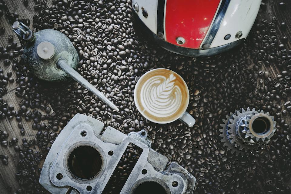 motobean coffee roasters flat lay