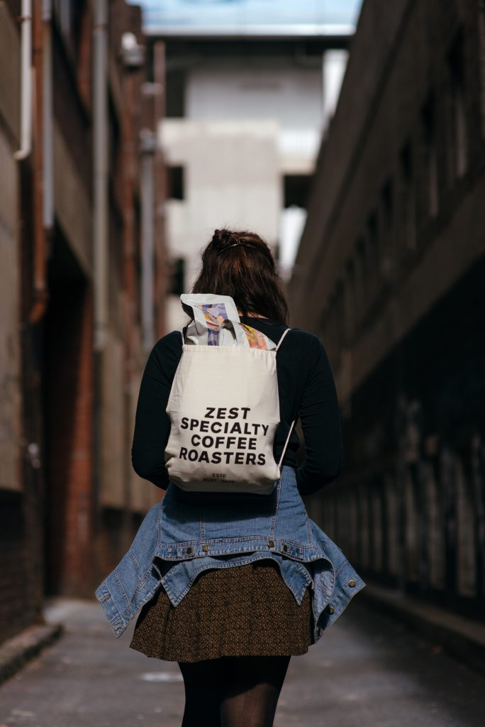 zest specialty coffee backpack