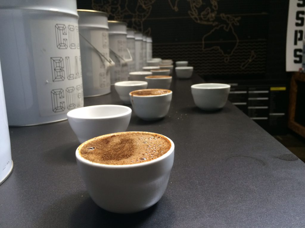 Code Black Coffee Roasters cupping