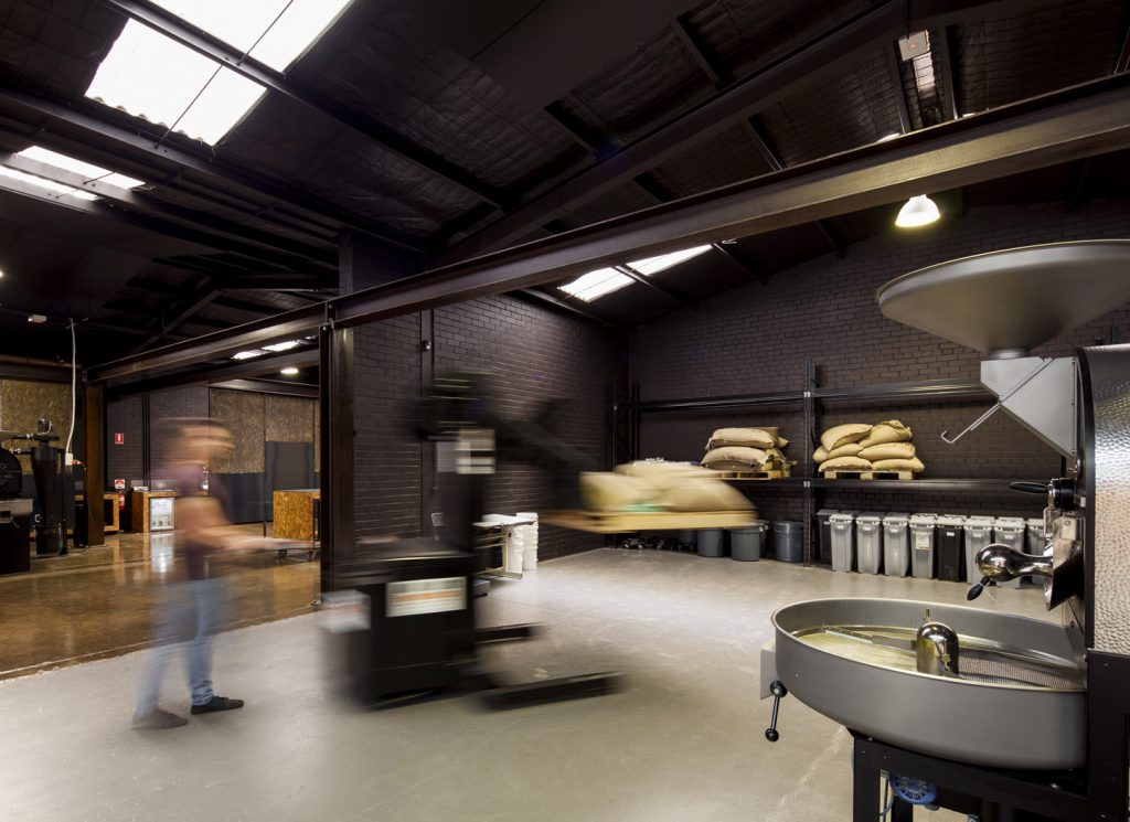 Code Black Coffee Roasters roastery