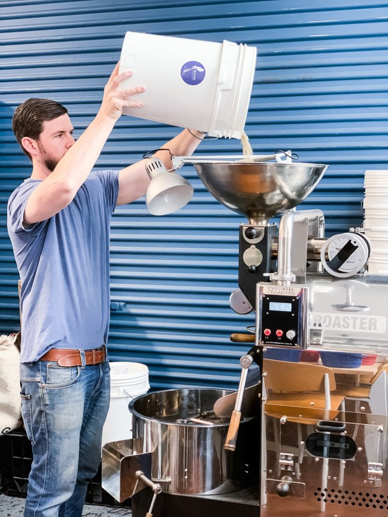 aucuba coffee roasters mark knapp