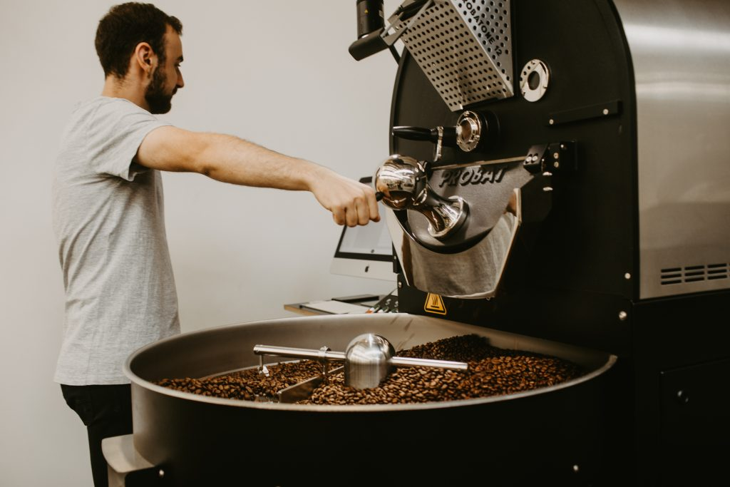 monochrome coffee co roasting