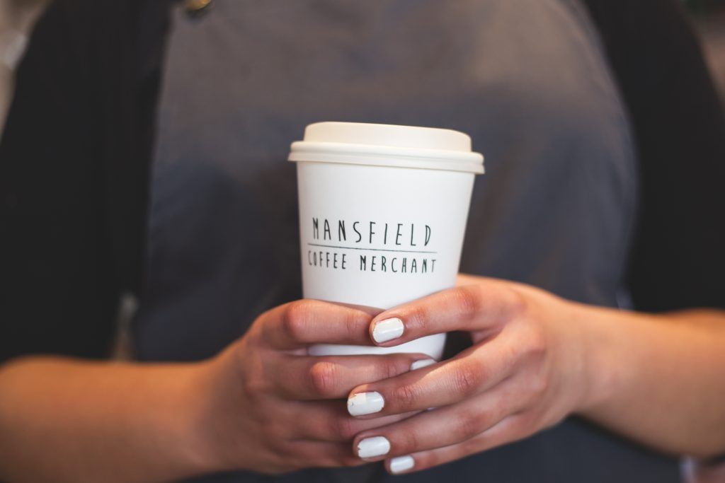 mansfield coffee merchant cup