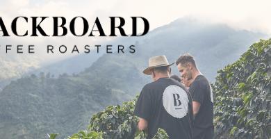 blackboard coffee roasters black logo
