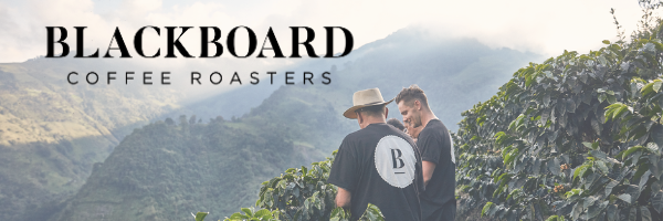 blackboard coffee roasters black logo